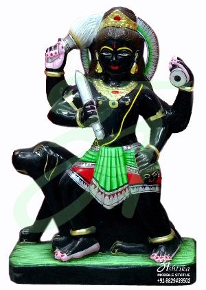 Bheru Baba Marble Statue