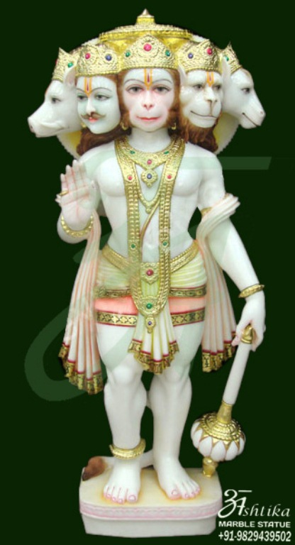 Buy Hanuman Marble Murti Statues In India At Best Prices