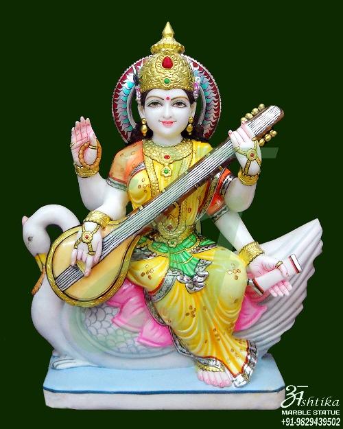 Marble Saraswati Statue Manufacturer
