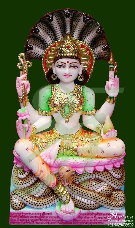 Marble Padmawati Statue