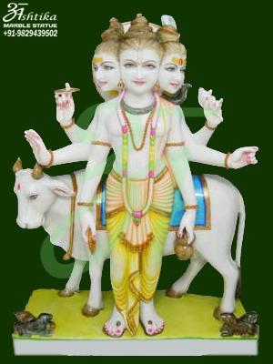 Marble Lord Dattatreya Statue Exporter