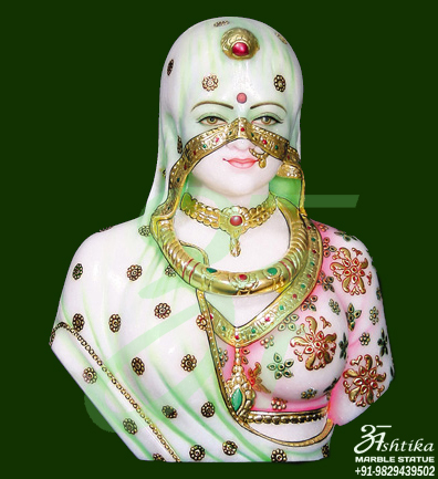 Marble Bani Thai Statue