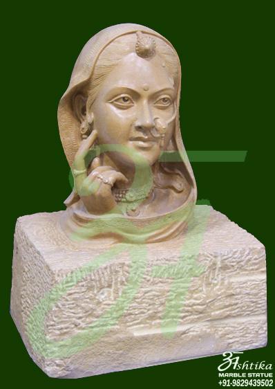 Marble Decorative Statue
