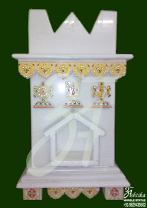 Tulsi marble Pot