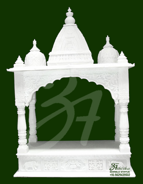 White Marble Temple  Statue copy