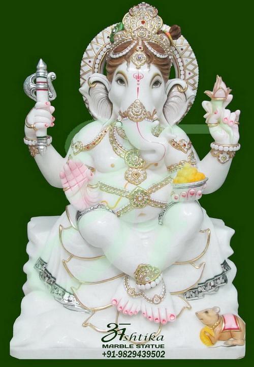 Marble Ganesh Idol Online