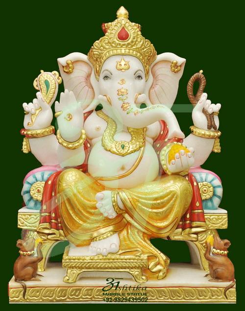 Marble Ganesh Murti Supplier