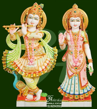 Radha Krishna Statue For Temple