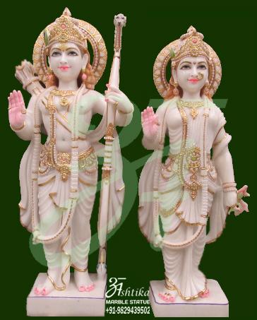 Beautiful Ram Sita Statue