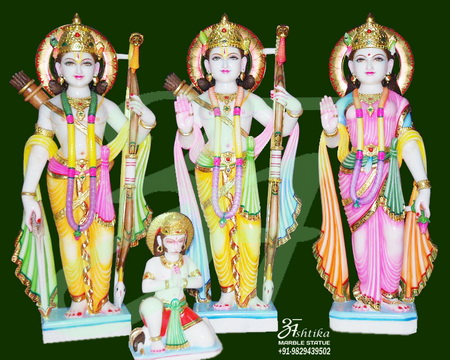 Ram Darbar Stone Statues