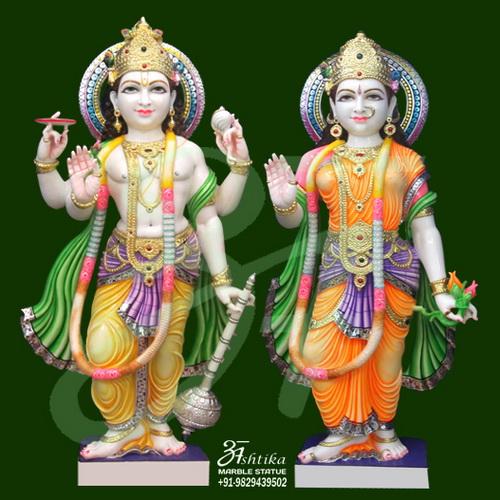 Marble Vishnu Laxmi Statue Manufacturer