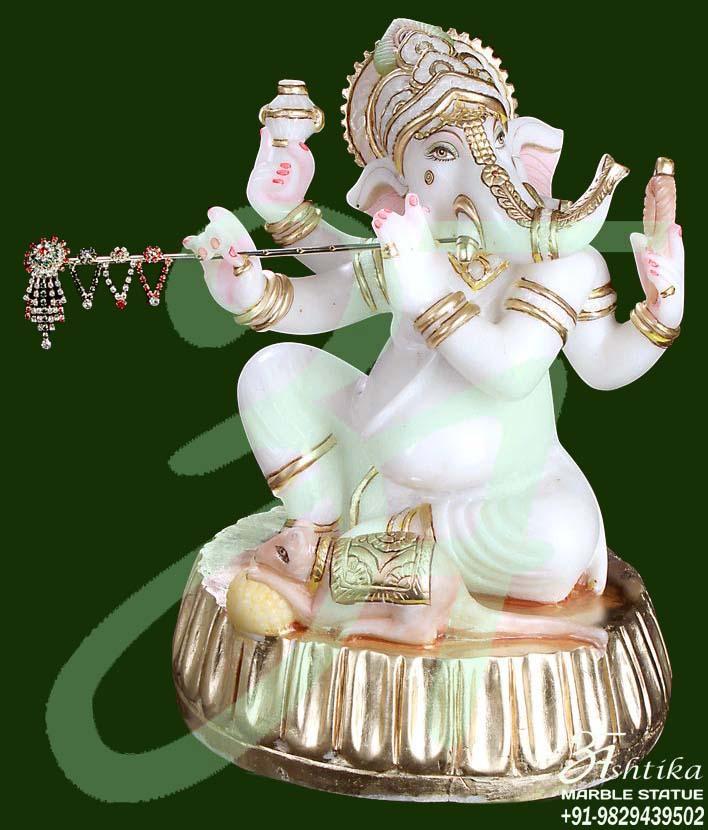 Stone Decor Ganesha