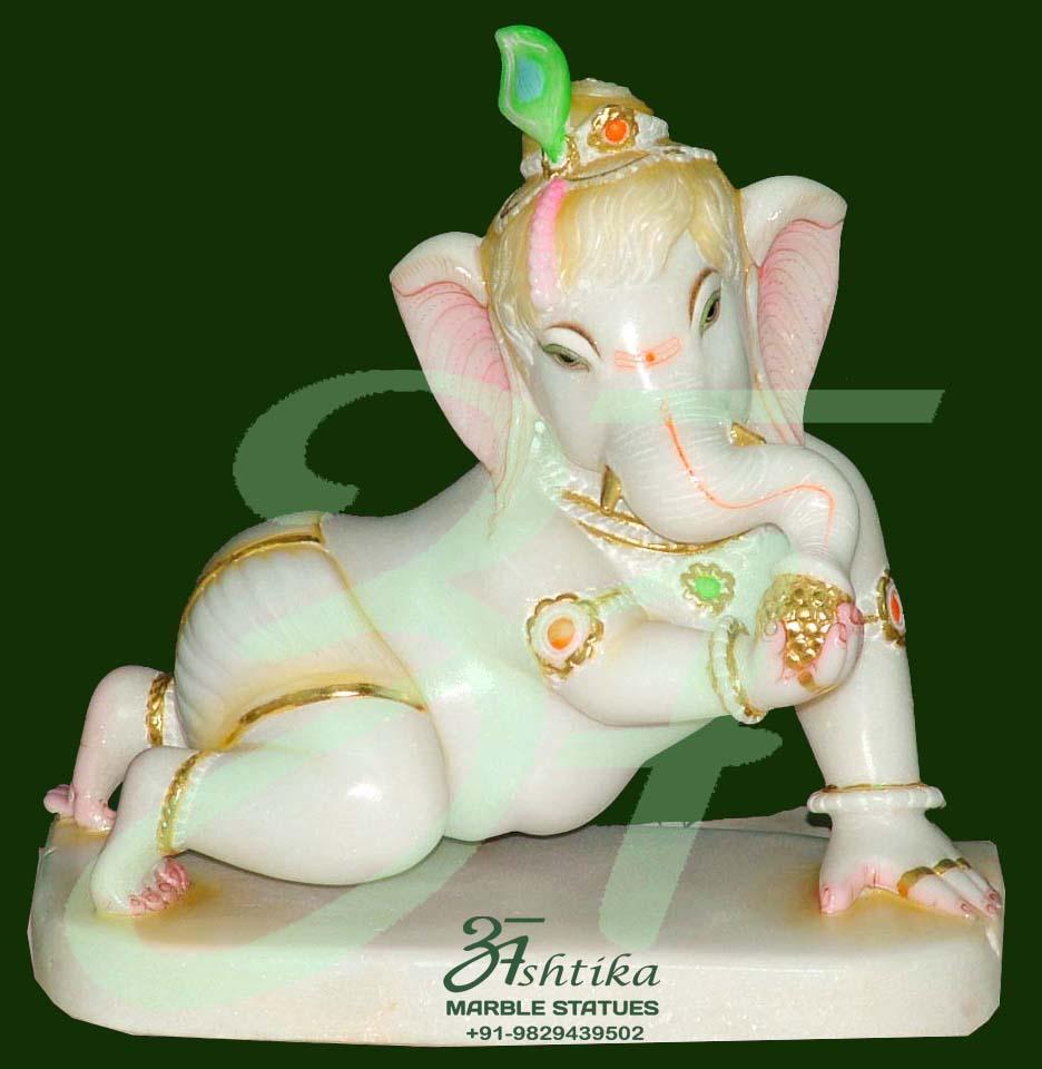 Lord Bal Ganesha Statue