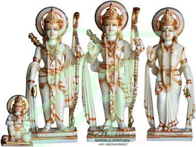 Marble Ram Darbar Statue Price