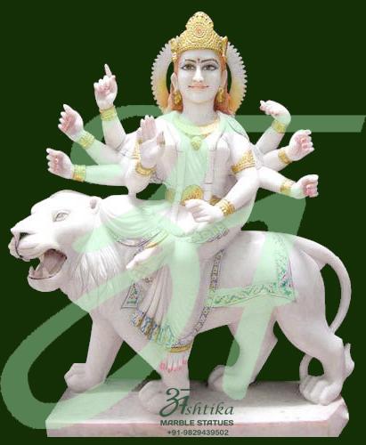 Buy Goddess Durga Marble Statues Murti Idols In Jaipur