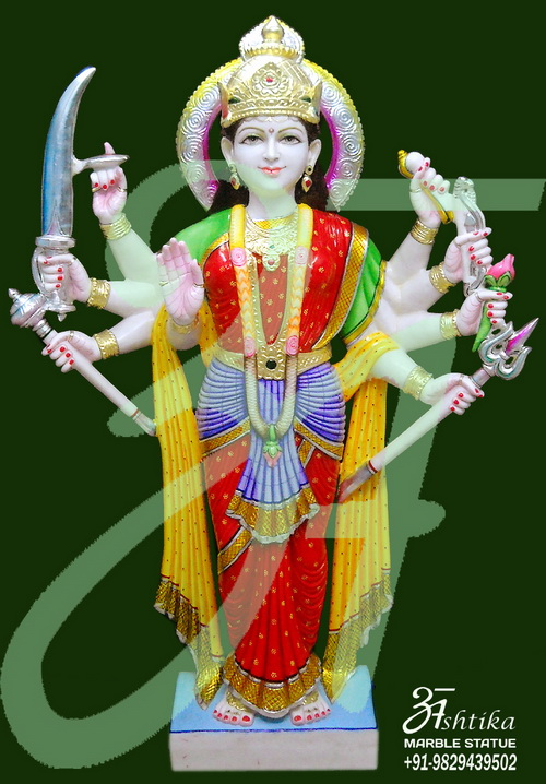 Traditional Maa Durga statue