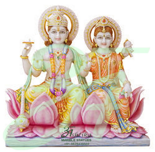 Marble Vishnu Laxmi Manufacturer