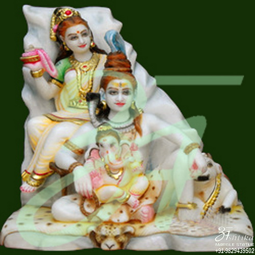 Marble Shiv Parvati Online Purchase
