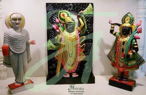 Marble Shrinath Murti Manufacturer