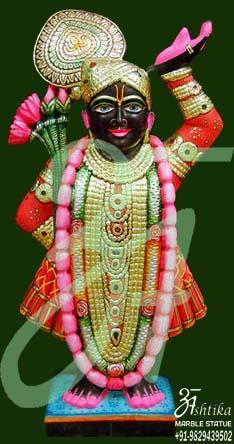 Shrinath ji Marble Moorti Online