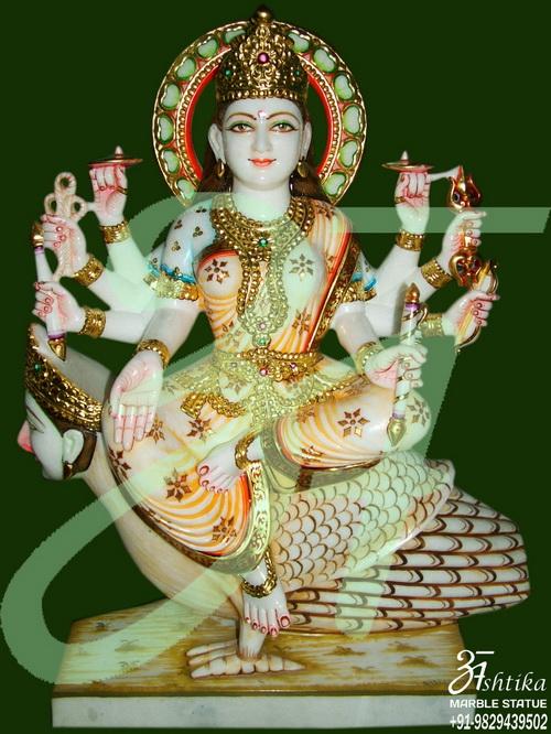 Marble Jain Devi Moorti